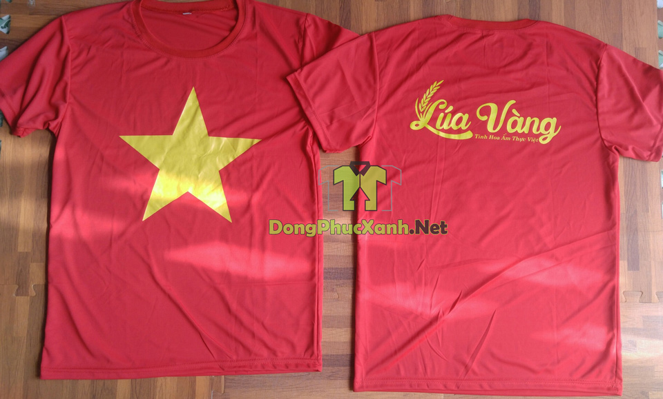 ao-co-do-sao-vang-gia-re-in-logo-nha-hang-lua-vang